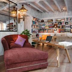 Projekty,  Domowe biuro i gabinet zaprojektowane przez Natalia Ibáñez