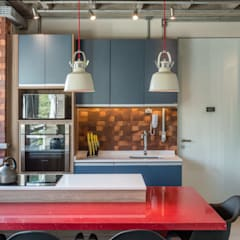 Apartamento PL por Fernanda Salvagni Custom Architecture Industrial