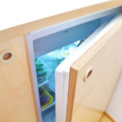 Dettaglio cucina - frigo: Cucina attrezzata in stile  di BGP studio