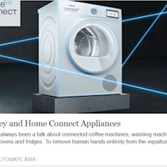 Homey and Home Connect for Bosch Appliances:  Kitchen units by Automate Asia Pte Ltd,Modern