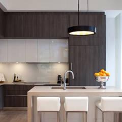 مطبخ ذو قطع مدمجة تنفيذ GD Arredamenti, حداثي اللوح