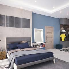 اتاق خواب by Dessiner Interior Architectural