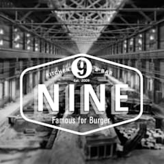 NINE bar: Bares y Clubs de estilo  de Muka Design Lab
