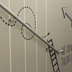 Wandgestaltung Radisson Blu Hotel Berlin:  Hotels von Smallgarden Design