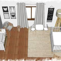 Visual aérea: Dormitorios infantiles de estilo  por JACH