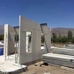SISTEMAS MODULARES DE CONSTRUCCION: Casas prefabricadas de estilo  por ALLEGRE ARQUITECTOS