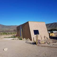 PROYECTO MODULAR SAN FELIPE: Casas prefabricadas de estilo  por ALLEGRE ARQUITECTOS