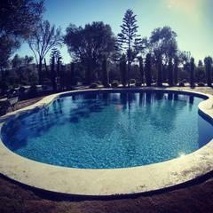 Piscines privées de style  par Sıdar Pool&Dome Yüzme Havuzları ve Şişme Kapamalar