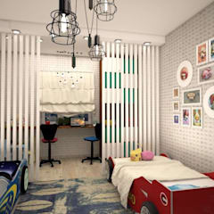Teen bedroom by Студия дизайна Elinarti