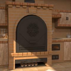 Приусадебная беседка: Дома в . Автор – Студия дизайна Elinarti