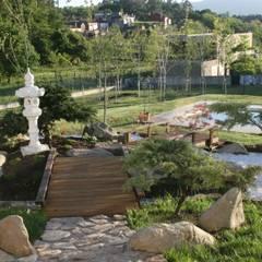 สวนแบบเซน by Jardines Japoneses -- Estudio de Paisajismo