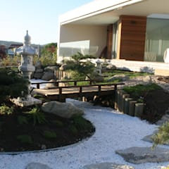 حديقة Zen تنفيذ Jardines Japoneses -- Estudio de Paisajismo, أسيوي