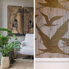 warm interieur voor stadswoning: moderne Serre door choc studio interieur