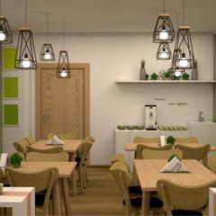 Общественные интерьеры: Ресторации в . Автор – Студия дизайна Elinarti, Минимализм