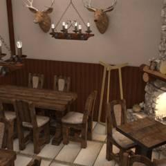 Проект пивного ресторана: Ресторации в . Автор – Студия дизайна Elinarti