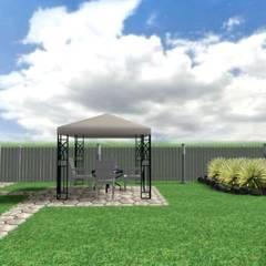 Проект приусадебного участка: Передний двор в . Автор – Студия дизайна Elinarti