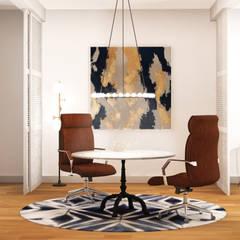 Projekty,  Domowe biuro i gabinet zaprojektowane przez Klausroom