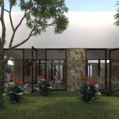 Передний двор в . Автор – EMERGENTE | Arquitectura
