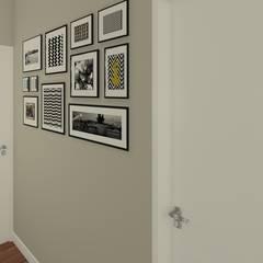 Interiores 105: Corredores e halls de entrada  por Laís Galvez Arquitetura e Interiores
