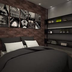 Boys Bedroom by Laís Galvez Arquitetura e Interiores
