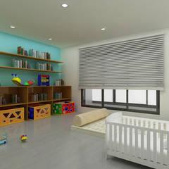 : Yunhee Choeが手掛けた子供部屋です。