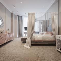 """ЖК """"Сколково Парк"""": Спальни для девочек в . Автор – insdesign II"""