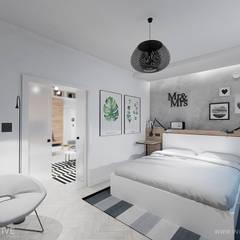 Dormitorios de estilo  por INVENTIVE studio