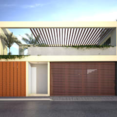 CASA PROGRESO   Progreso  Yucatán.: Casas de estilo  por EMERGENTE   Arquitectura