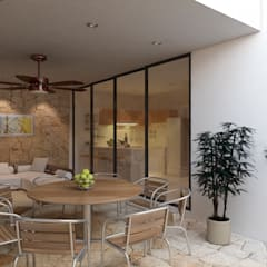Terrace by EMERGENTE | Arquitectura, Eclectic