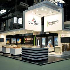 Exhibition centres by Lúdico Arquitectos