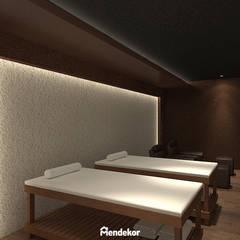 NEST Reflexology & Spa: Ruang Komersial oleh Mendekor, Modern