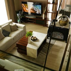 Volakas White Marble Table Top in Busay, Cebu City:  Living room by Stone Depot