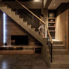 Living room by 漢玥室內設計, Modern Marble