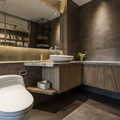 Bathroom by 漢玥室內設計, Modern Marble