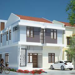 Rumah Kos 2 Lantai:  Rumah by Adhicitta Karya Megah
