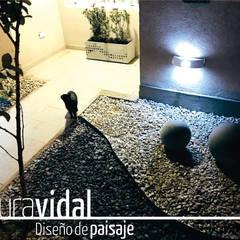 สวนแบบเซน by Laura Vidal Estudio de Paisajismo - Interiorismo