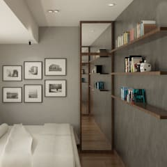 LUXURIOUS MASCULINE APARTMENT @ SEASON CITY, WEST JAKARTA Kamar Tidur Modern Oleh PT. Dekorasi Hunian Indonesia (DHI) Modern