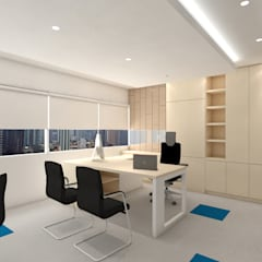 SMART CHANGE FOR FRESHER LOOK OFFICE @ COWELL TOWER, JAKARTA:  Gedung perkantoran by PT. Dekorasi Hunian Indonesia (DHI)