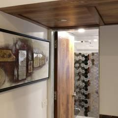 3BHK in Mystique Moods, Viman Nagar:  Bathroom by Umbrella Tree Designs