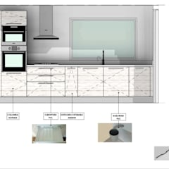 ครัวสำเร็จรูป by Territorio Arquitectura y Construccion