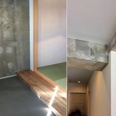 ekoda_renovation: tai_tai STUDIOが手掛けた壁です。,ラスティック