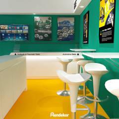 NAK Booth:  Ruang Komersial by Mendekor