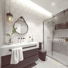Bathroom by Juliana Azanha | Arquitetura e Interiores