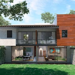 Single family home by Fi Arquitectos