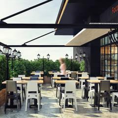 Hayri Atak Tasarım Ofisi – Focaccia Cafe İstanbul:  tarz Yeme & İçme