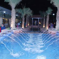 Ashiana Vrinda Gardens, Jaipur:  Pool by NMP Design