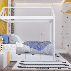 Teen bedroom by U-Style design studio