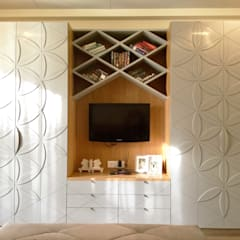 Dressing room by H5 Interior Design, Eclectic