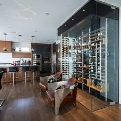 Cave à vin moderne: Cave à vin de style de style Moderne par Millesime Wine Racks