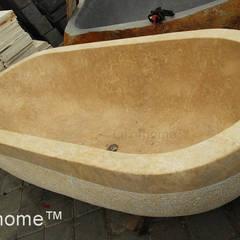 Wanna z marmuru - Marmurowa wanna do łazienki: styl , w kategorii Łazienka zaprojektowany przez Lux4home™